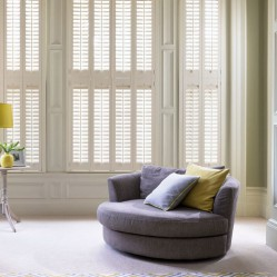 Living space Wooden Shutters