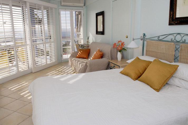 White Bedroom Shutters